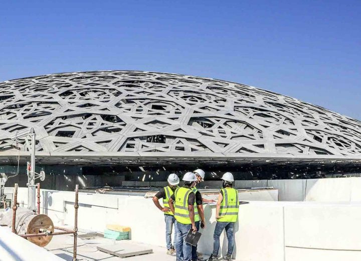 Tecfire's footprint at Louvre Museum of Abu Dhabi.