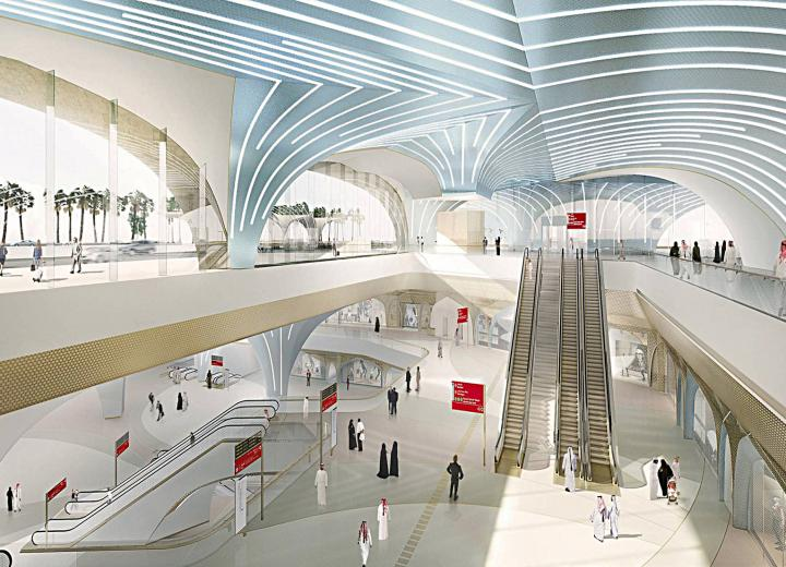 Another two Doha Metro Stations awarded