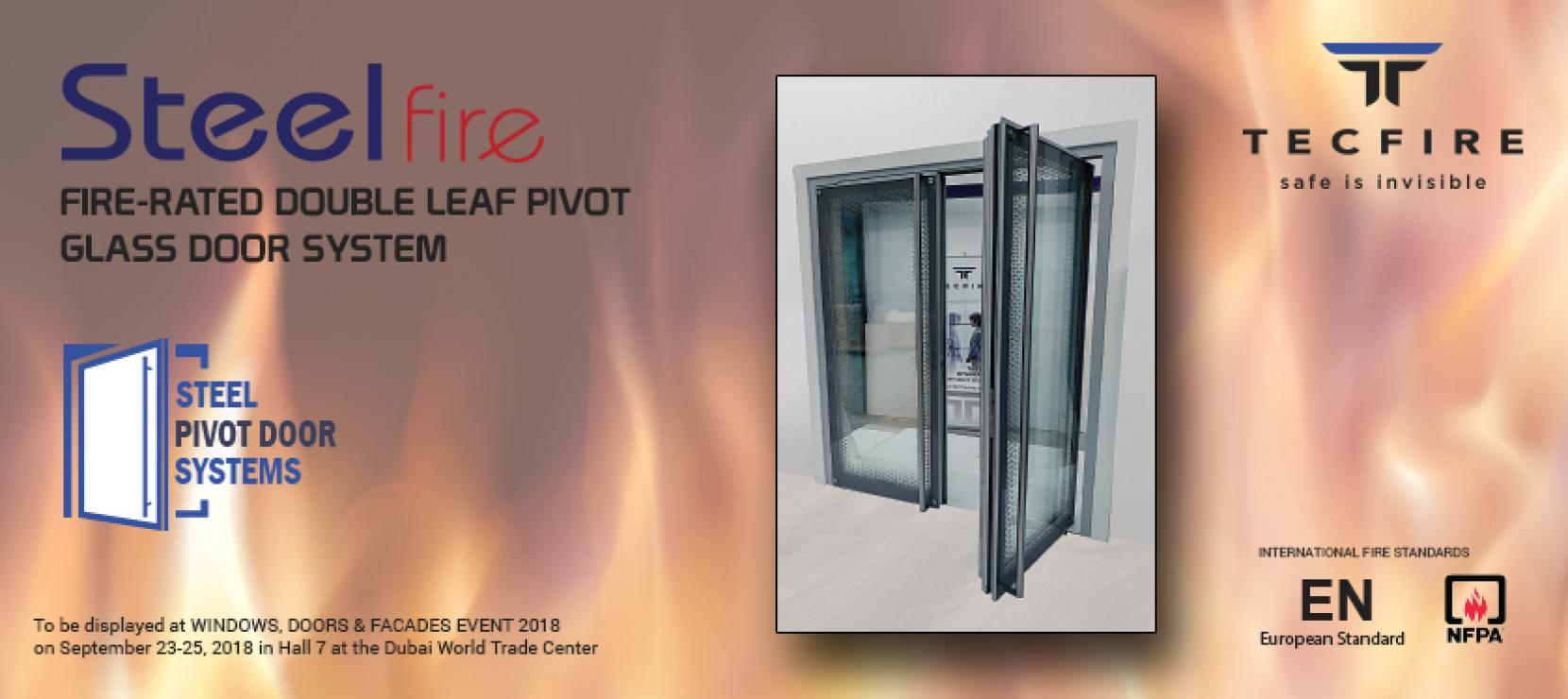 Tecfire's Pivot Door Systems