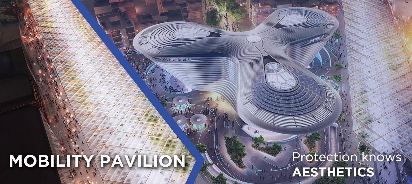 Mobility Pavilion at Expo 2020