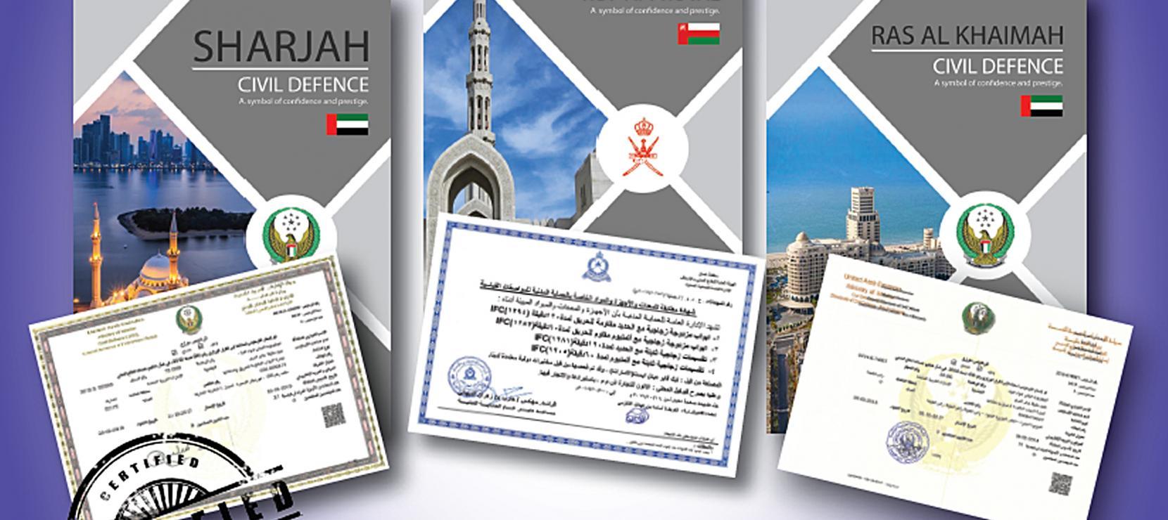 Oman ROP & UAE Civil Defence Approvals