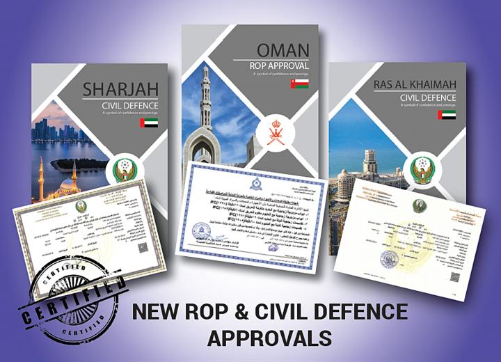 Oman ROP & UAE Civil Defence Approvals