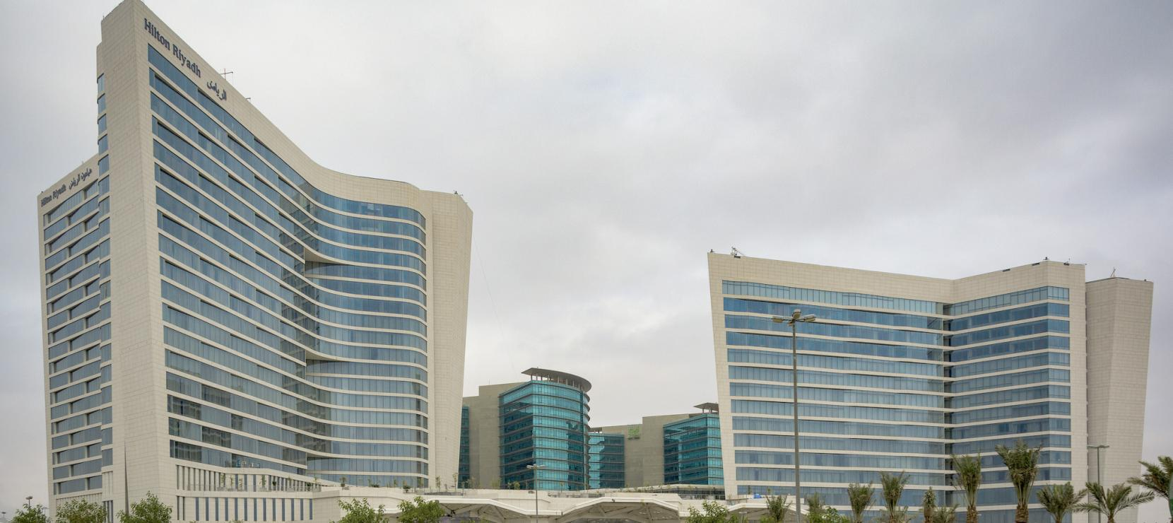 Hilton Riyadh: A Two-Tower Masterpiece