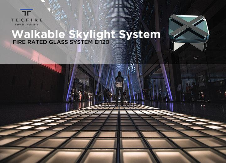 Tecfire's Skylight in Barcelona